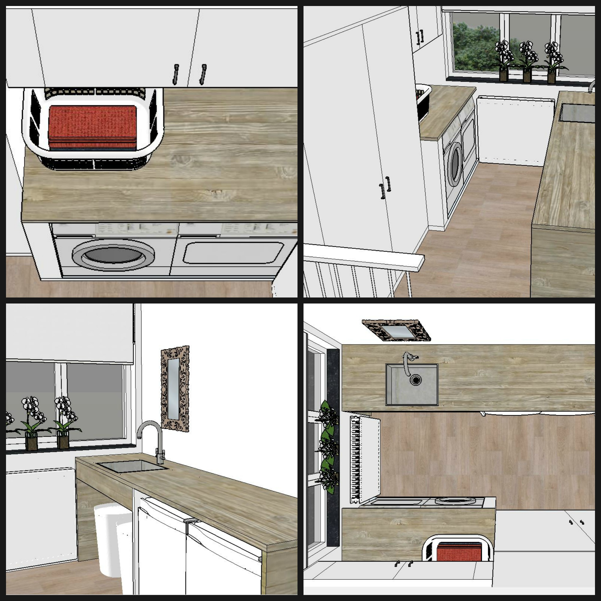Ideeen ontwerp wasruimte gehoor geven aan uw huis - Moderne wasruimte ...