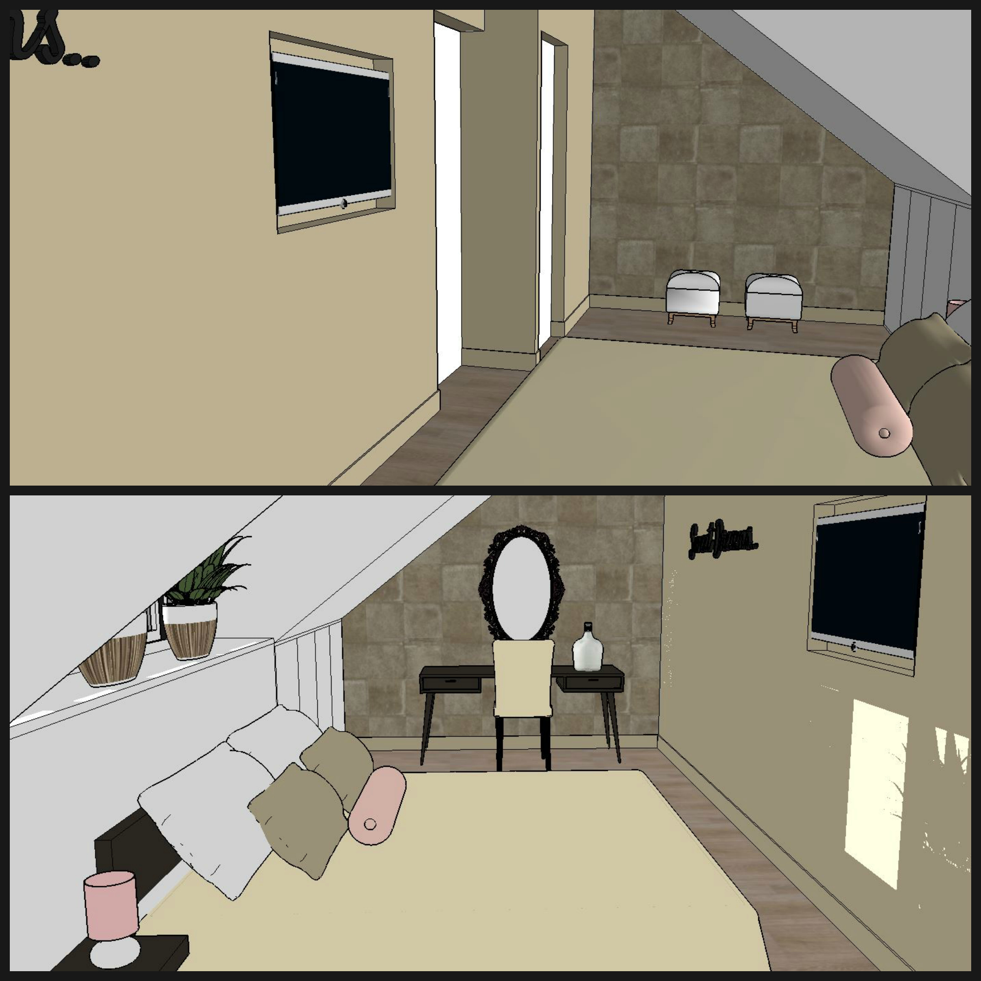 Voorbeeld indeling slaapkamer: design slaapkamerkasten op maat ...